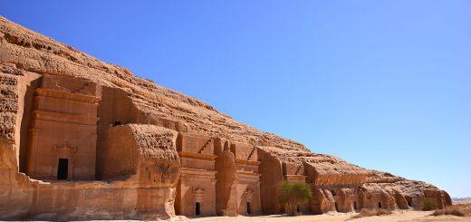 منطقه مدائن صالح - شمال عربستان - محل عذاب قوم ثمود